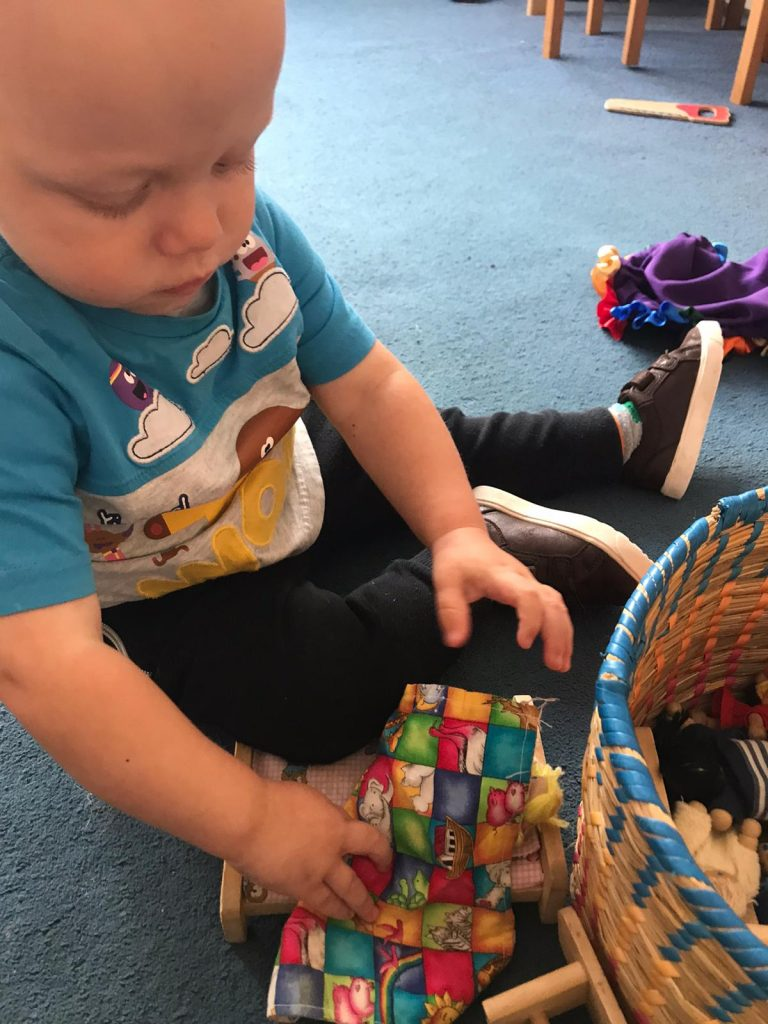Baby playing 1